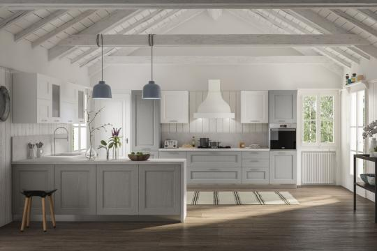 Klasične lesene kuhinje